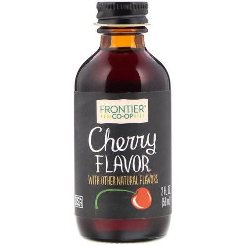 Frontier Natural Products, Cherry Flavor, 2 fl oz (59 ml) Review