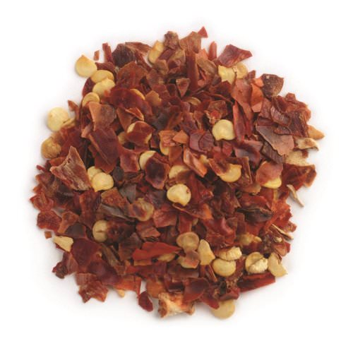 Frontier Natural Products, Crushed Red Chili Peppers, 16 oz (453 g) Review