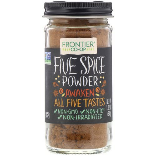 Frontier Natural Products, Five Spice Powder, 1.92 oz (54 g) Review