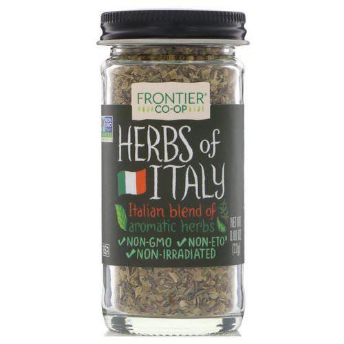 Frontier Natural Products, Herbs of Italy, Italian Blend of Aromatic Herbs, 0.80 oz (22 g) Review