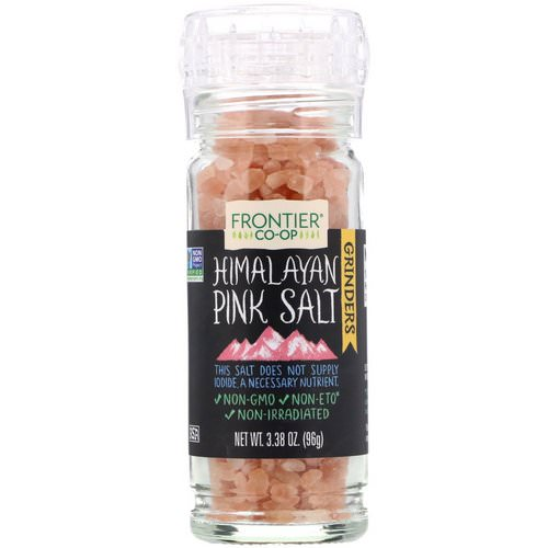 Frontier Natural Products, Himalayan Pink Salt Grinder, 3.38 oz (96 g) Review