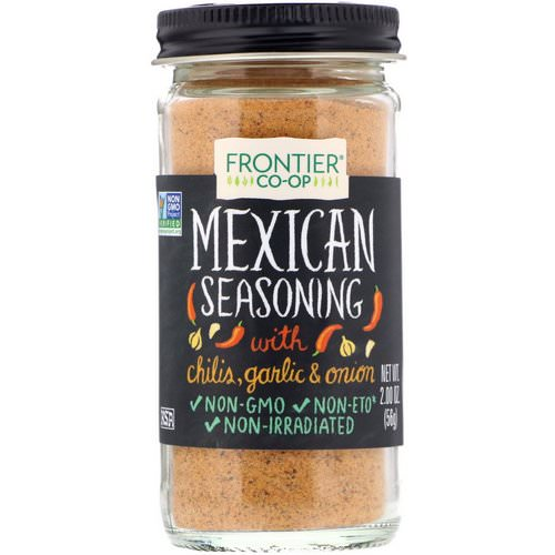 Frontier Natural Products, Mexican Seasoning, With Chilis, Garlic & Onion, 2.00 oz (56 g) Review