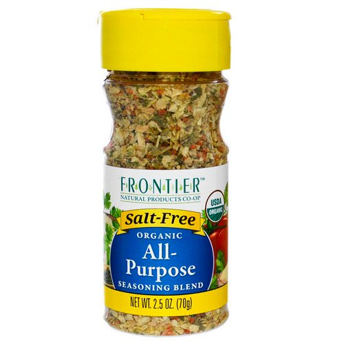 Frontier Natural Products, Organic All-Purpose Seasoning Blend, 2.5 oz (70 g) Review
