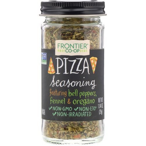 Frontier Natural Products, Pizza Seasoning, 1.04 oz (29 g) Review