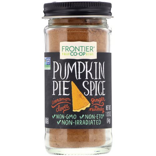 Frontier Natural Products, Pumpkin Pie Spice, 1.92 oz (54 g) Review