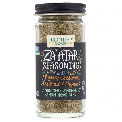 Frontier Natural Products, Za'atar Seasoning, 1.90 oz (55 g) Review