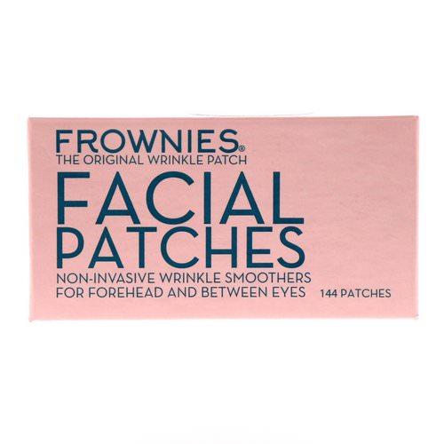 Frownies, Facial Patches, For Foreheads & Between Eyes, 144 Patches Review