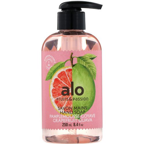 Fruits & Passion, ALO, Hand Soap, Grapefruit Guava, 8.4 fl oz (250 ml) Review