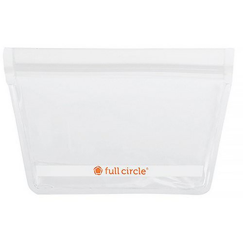 Full Circle, ZipTuck, Reusable Snack Bags, Clear, 2 Bags Review