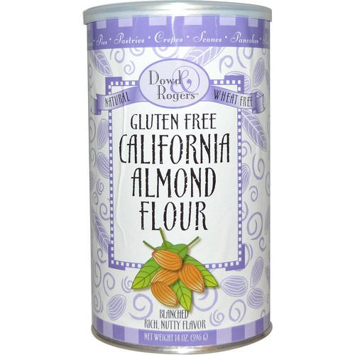 FunFresh Foods, Dowd & Rogers, Gluten Free California Almond Flour, 14 oz (396 g) Review