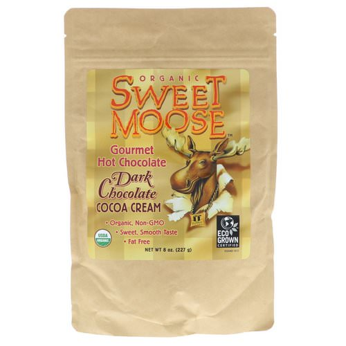 FunFresh Foods, Sweet Moose, Gourmet Hot Chocolate, Dark Chocolate Cocoa Cream, 8 oz (227 g) Review