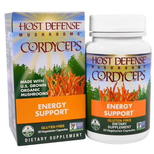 Fungi Perfecti, Mushrooms, Cordyceps, Energy Support, 30 Veggie Caps Review
