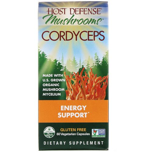 Fungi Perfecti, Mushrooms, Cordyceps, Energy Support, 60 Vegetarian Capsules Review