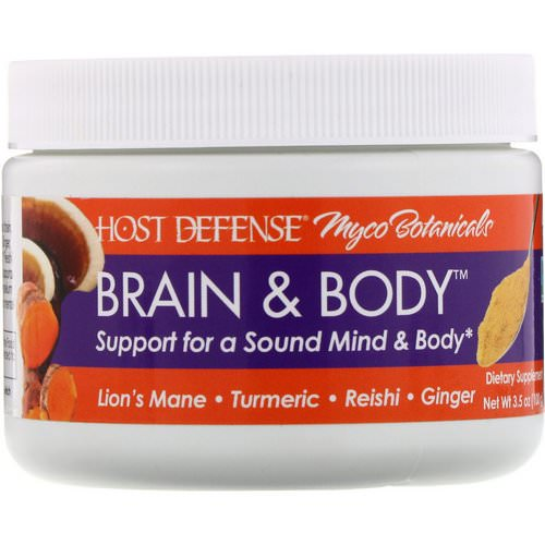 Fungi Perfecti, Myco Botanicals, Brain & Body, 3.5 oz (100 g) Review