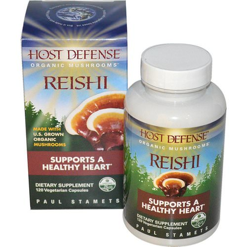Fungi Perfecti, Reishi, Supports A Healthy Heart, 120 Veggie Caps Review