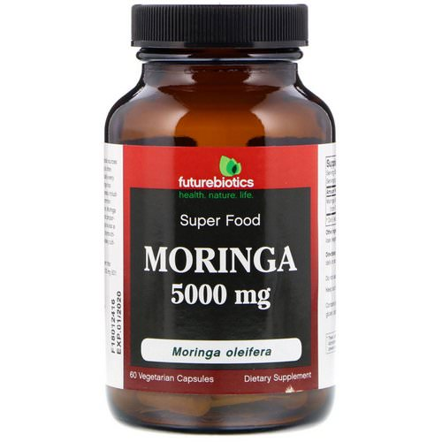 FutureBiotics, Moringa, 5000 mg, 60 Vegetarian Capsules Review