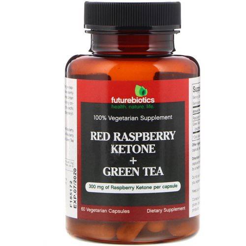 Futurebiotics Raspberry Ketones Red Ketone Green Tea