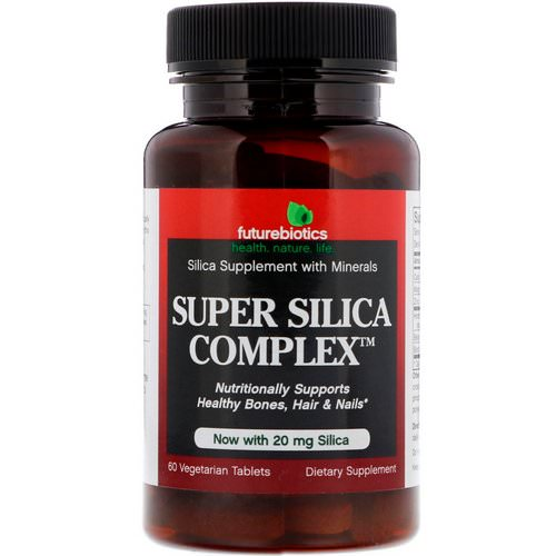 FutureBiotics, Super Silica Complex, 60 Vegetarian Tablets Review