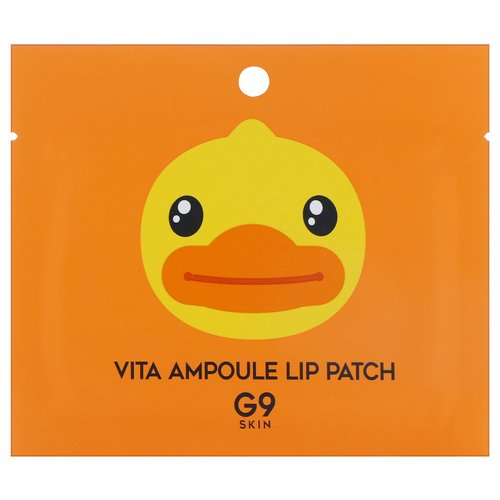 G9skin, Vita Ampoule Lip Patch, 5 Patches, 3 g Each Review