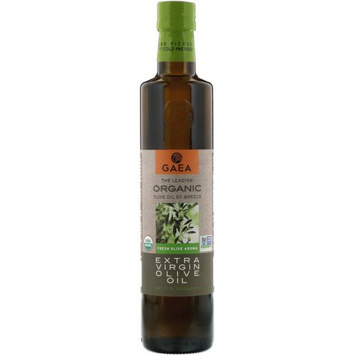 Gaea, Organic Extra Virgin Olive Oil, 17 fl oz (500 ml) Review