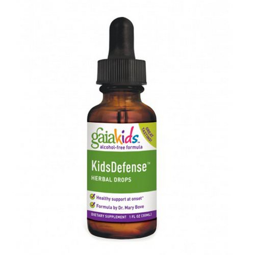 Gaia Herbs, Kids Defense Herbal Drops, Alcohol-Free Formula, 1 fl oz (30 ml) Review