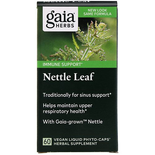Gaia Herbs, Nettle Leaf, 60 Vegan Liquid Phyto-Caps Review