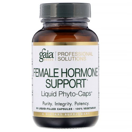 Gaia Herbs Professional Solutions, Female Hormone Support, 60 Liquid-Filled Capsules Review