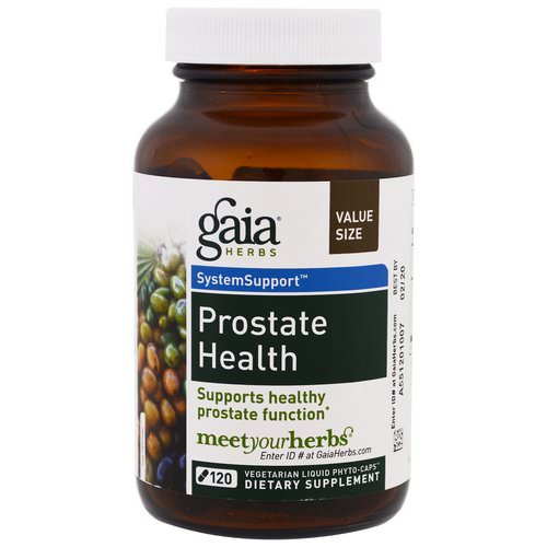 Gaia Herbs, Prostate Health, 120 Vegetarian Liquid Phyto-Caps Review