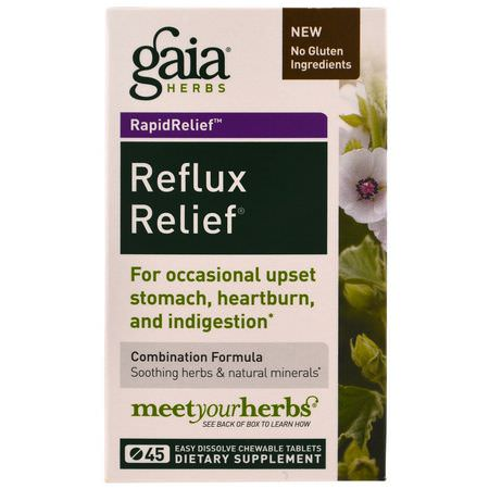Reflux Relief, Digestion, Supplements, Herbal Formulas, Homeopathy, Herbs