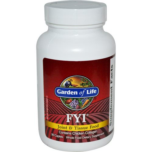 Garden of Life, FYI, Joint & Tissue Food, 90 Caplets Review