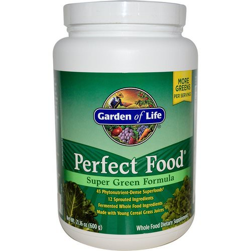 Garden of Life, Perfect Food, Super Green Formula, 1.3 lbs (600 g) Review