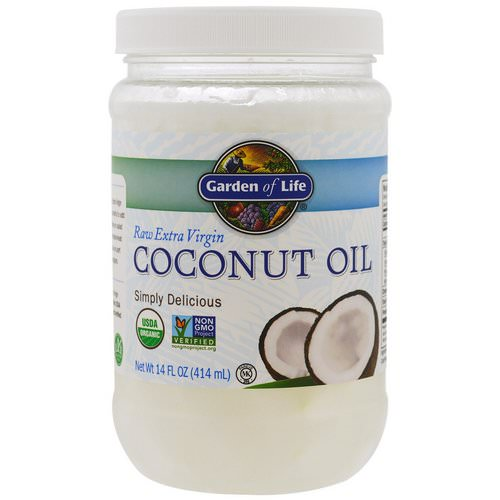 Garden of Life, Raw Extra Virgin Coconut Oil, 14 fl oz (414 ml) Review