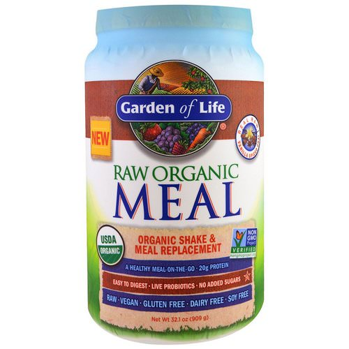 Garden of Life, RAW Organic Meal, Organic Shake and Meal Replacement, Vanilla Spiced Chai, 2 lbs (909 g) Review