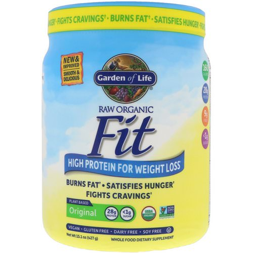 Garden of Life, RAW Organic Fit, High Protein for Weight Loss, 15.1 oz (427 g) Review