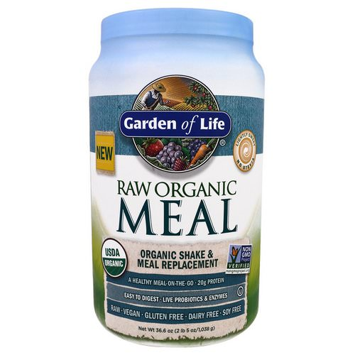 Garden of Life, RAW Organic Meal, Organic Shake & Meal Replacement, 2.28 lbs (1,038 g) Review
