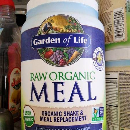 Garden of Life, Meal Replacements, Plant Based Blends
