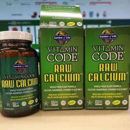 Garden Of Life Calcium Raw