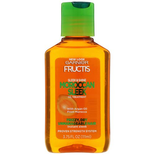 Garnier, Fructis, Sleek & Shine, Moroccan Sleek Oil Treatment, 3.75 fl oz (111 ml) Review