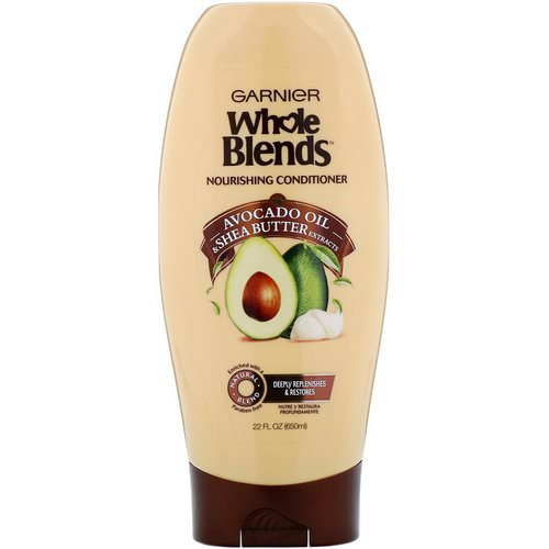 Garnier, Whole Blends, Avocado Oil & Shea Butter Nourishing Conditioner, 22 fl oz (650 ml) Review