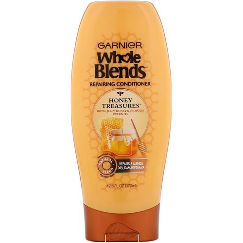 Garnier, Whole Blends, Honey Treasures Repairing Conditioner, 12.5 fl oz (370 ml) Review