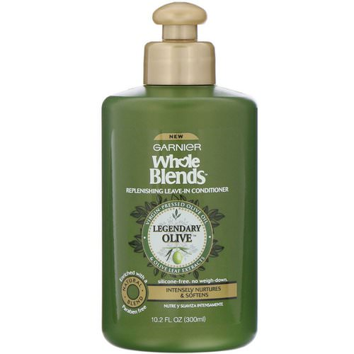 Garnier, Whole Blends, Replenishing Leave-In Conditioner, Legendary Olive, 10.2 oz (300 ml) Review