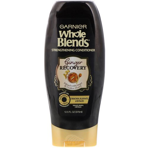 Garnier, Whole Blends, Strengthening Conditioner, Ginger Recovery, 12.5 fl oz (370 ml) Review