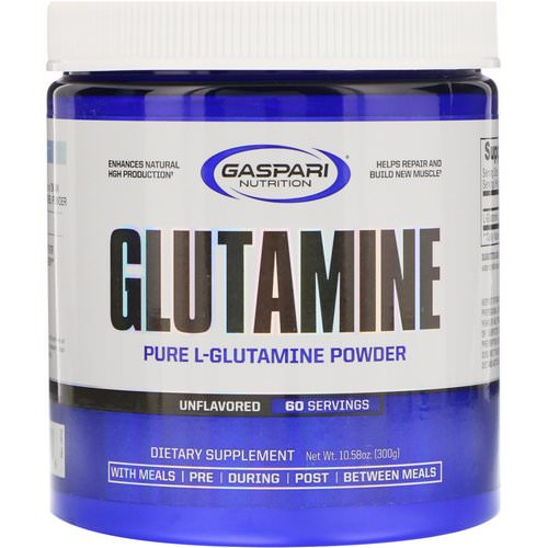 Gaspari Nutrition, Glutamine, Unflavored, 10.58 oz (300 g) Review