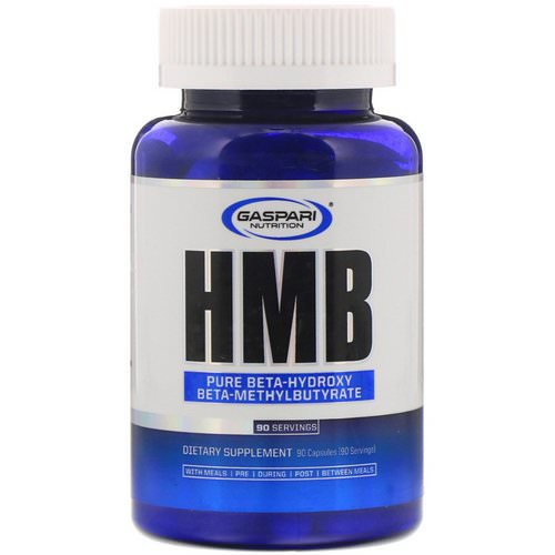 Gaspari Nutrition, HMB, 1,000 mg, 90 Capsules Review