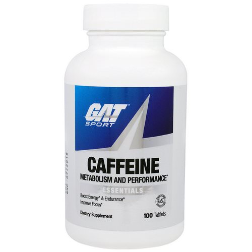 GAT, Caffeine Metabolism and Performance, Essentials, 100 Tablets Review