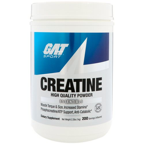 GAT, Creatine, 1000 g Powder Review