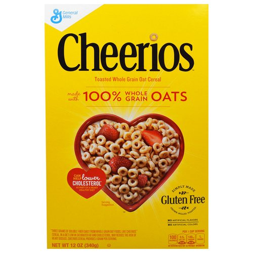 General Mills, Cheerios, 12 oz (340 g) Review