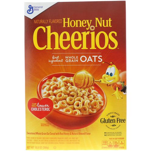 General Mills, Honey Nut Cheerios, 10.8 oz (306 g) Review