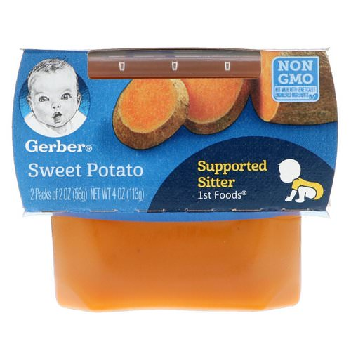 Gerber, 1st Foods, Sweet Potato, 2 Pack, 2 oz (56 g) Each Review