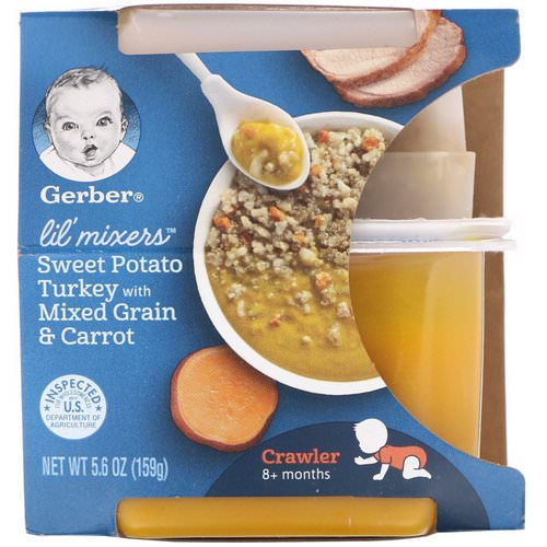 Gerber, Lil' Mixers, 8+ months, Sweet Potato Turkey With Mixed Grain & Carrot, 5.6 oz (159 g) Review